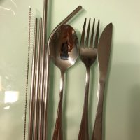 9 Pieces Go Cutlery Set photo review